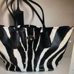 Coach Zebra Oversize Bag